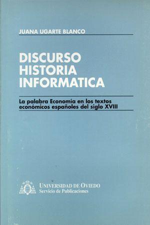 DISCURSO, HISTORIA, INFORMÁTICA