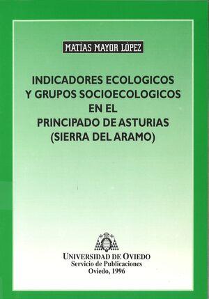 INDICADORES ECOLÓGICOS Y GRUPOS SOCIOLÓGICOS EN EL PRINCIPADO DE ASTURIAS