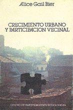 CRECIMIENTO URBANO Y PARTICIPACIÓN VECINAL