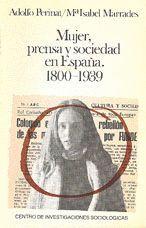 MUJER, PRENSA Y SOCIEDAD EN ESPAÑA