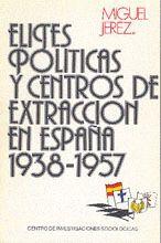ELITES POLÍTICAS Y CENTRO DE EXTRACCIÓN EN ESPAÑA, 1938-1957