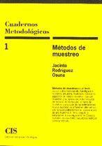 MÉTODOS DE MUESTREO