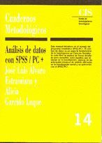 ANÁLISIS DE DATOS CON SPSS/PC+
