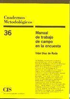 MANUAL DE TRABAJO DE CAMPO EN LA ENCUESTA
