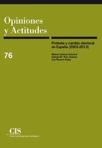 PROTESTA Y CAMBIO ELECTORAL EN ESPAÑA (2003-2013)