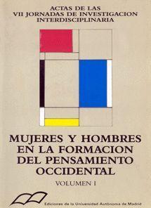 MUJERES Y HOMBRES EN LA FORMACIÓN DEL PENSAMIENTO OCCIDENTAL. TOMO I: FILOSOFÍA POLÍTICA, ECONOMÍA,