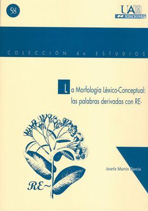 LA MORFOLOGÍA LÉXICO- CONCEPTUAL: LAS PALABRAS DERIVADAS EN RE-