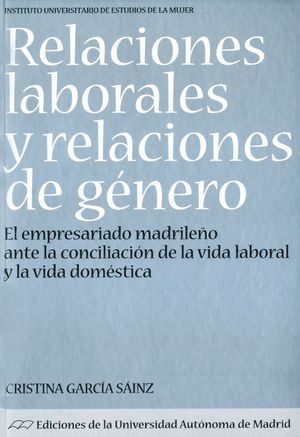 RELACIONES LABORALES Y RELACIONES DE GÉNERO