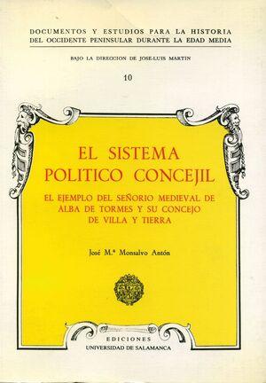 EL SISTEMA POLÍTICO CONCEJIL