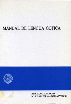 MANUAL DE LENGUA GÓTICA
