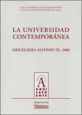 LA UNIVERSIDAD CONTEMPORÁNEA