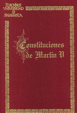 CONSTITUCIONES DE MARTÍN V (FACS.)