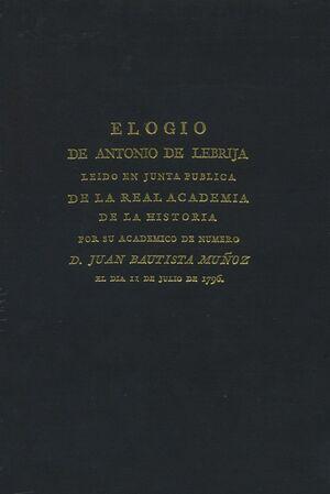 ELOGIO DE ANTONIO DE LEBRIJA