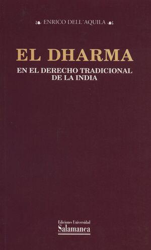 EL DHARMA EN EL DERECHO TRADICIONAL DE LA INDIA