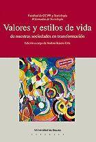 VALORES Y ESTILOS DE VIDA DE NUESTRAS SOCIEDADES EN TRANSFORMACIÓN