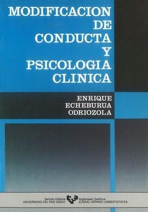 MODIFICACIÓN DE CONDUCTA Y PSICOLOGÍA CLÍNICA
