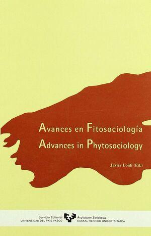 AVANCES EN FITOSOCIOLOGÍA. ADVANCES IN PHYTOSOCIOLOGY
