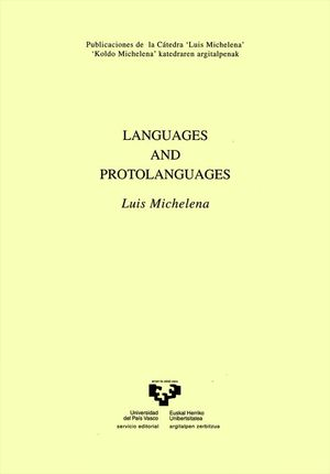 LANGUAGES AND PROTOLANGUAGES
