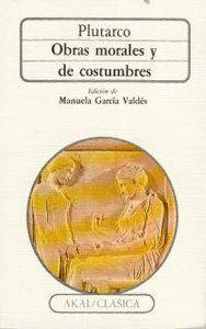 OBRAS MORALES Y DE COSTUMBRES CA