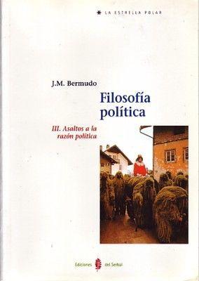 FILOSOFÍA POLÍTICA. TOMO III