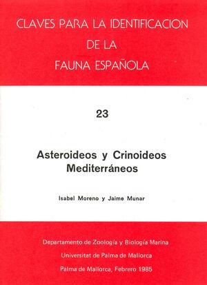 ASTEROIDEOS Y CRINOIDEOS MEDITERRÁNEOS