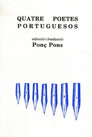 QUATRE POETES PORTUGUESOS