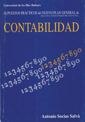 SUPUESTOS PRÁCTICOS DEL NUEVO PLAN GENERAL DE CONTABILIDAD