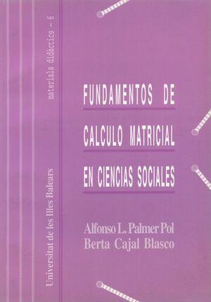 FUNDAMENTOS DE CÁLCULO MATRICIAL