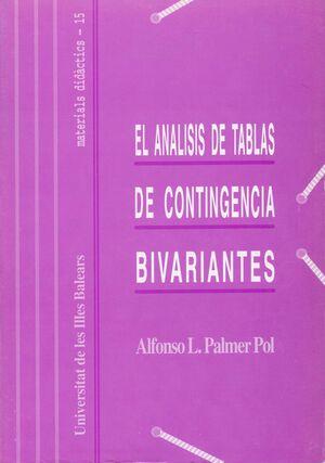 EL ANÁLISIS DE TABLAS DE CONTINGENCIA BIVARIANTES