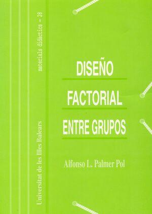 DISEÑO FACTORIAL ENTRE GRUPOS