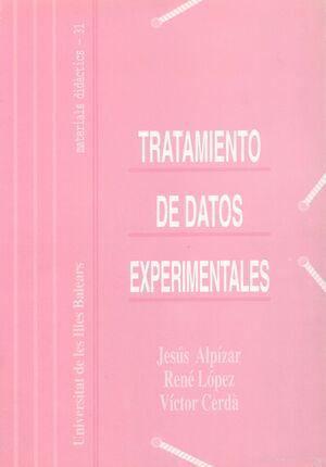 TRATAMIENTOS DE DATOS EXPERIMENTALES