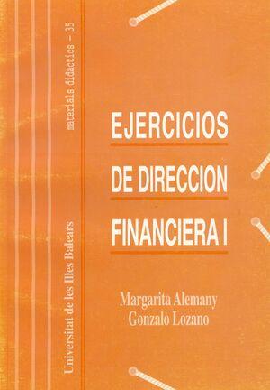 EJERCICIOS DE DIRECCIÓN FINANCIERA I