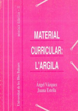MATERIAL CURRICULAR: L'ARGILA