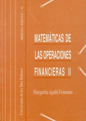 MATEMÁTICAS DE LAS OPERACIONES