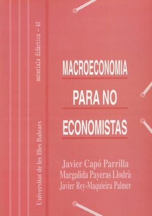 MACROECONOMÍA PARA NO ECONOMISTAS