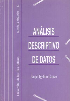 ANÁLISIS DESCRIPTIVO DE DATOS