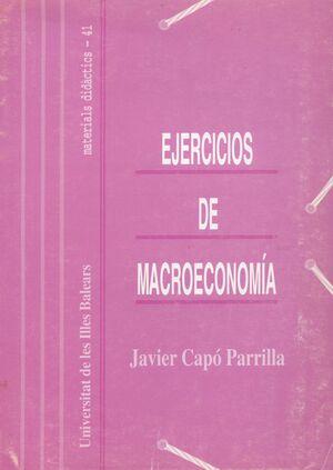 EJERCICIOS DE MACROECONOMÍA