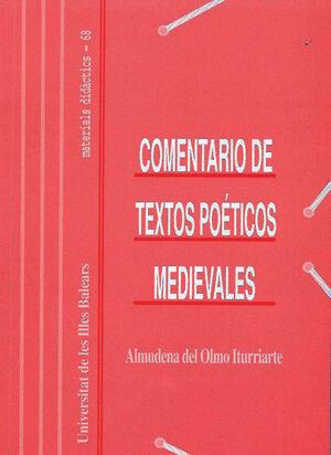 COMENTARIOS DE TEXTOS POÉTICOS MEDIEVALES