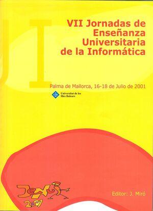VII JORNADAS ENSEÑANZA UNIV. INFORMÀTICA