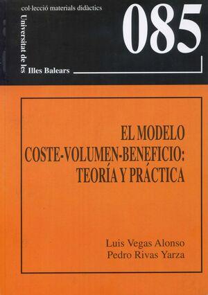EL MODELO COSTE-VOLUMEN-BENEFICIO