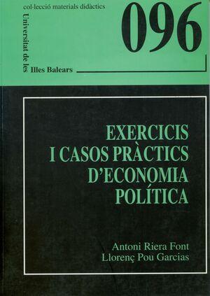EXERCICIS I CASOS PRÀCTICS D'ECONOMIA POLÍTICA