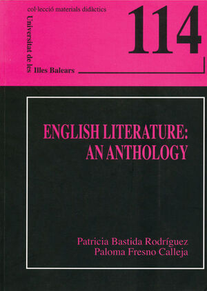 ENGLISH LITERATURE: AN ANTHOLOGY