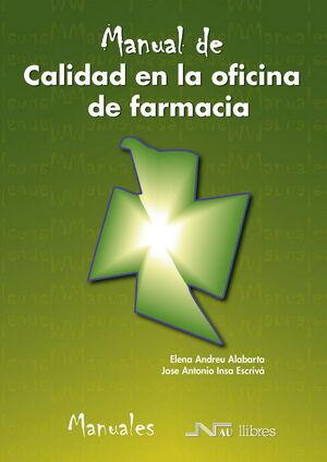 CALIDAD EN LA OFICINA DE FARMACIA