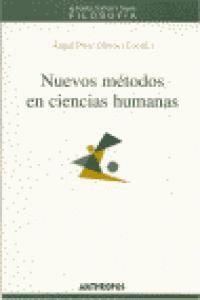 NUEVOS MÉTODOS EN CIENCIAS HUMANAS