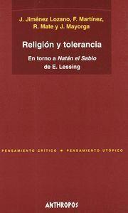 RELIGIÓN Y TOLERANCIA EN TORNO A NATÁN EL SABIO DE E. LESSING