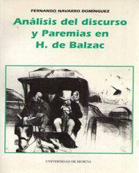 ANALISIS DEL DISCURSO Y PAREMIAS EN H DE BALZAC