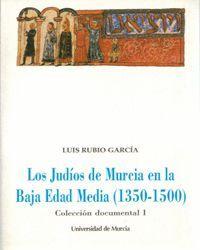 LOS JUDIOS DE MURCIA EN LA BAJA EDAD MEDIA (COLECCIÓN DOCUMENTAL, 1)