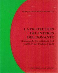 LA PROTECCIÓN DEL INTERÉS DEL DONANTE