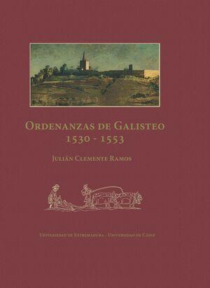 ORDENANZAS DE GALISTEO 1530-1553
