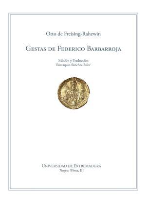 GESTAS DE FEDERICO BARBARROJA
